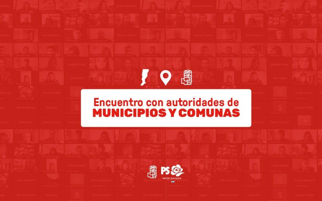 El Partido Socialista destacó el trabajo de sus intendentes y autoridades locales en la pandemia