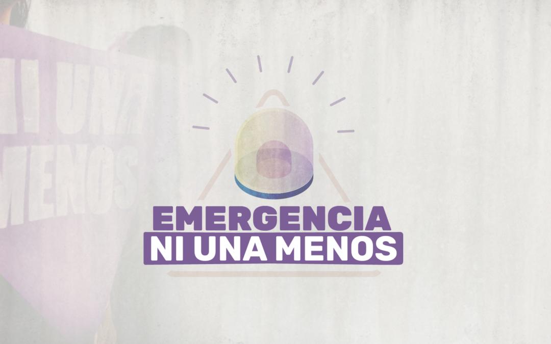 Una ley que declare la emergencia en violencias de género